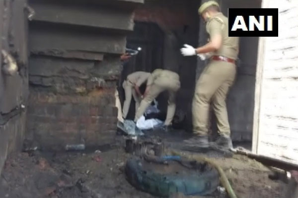 Fire breaks out in Bijnor while making firecrackers, 5 dead - Lucknow News in Hindi