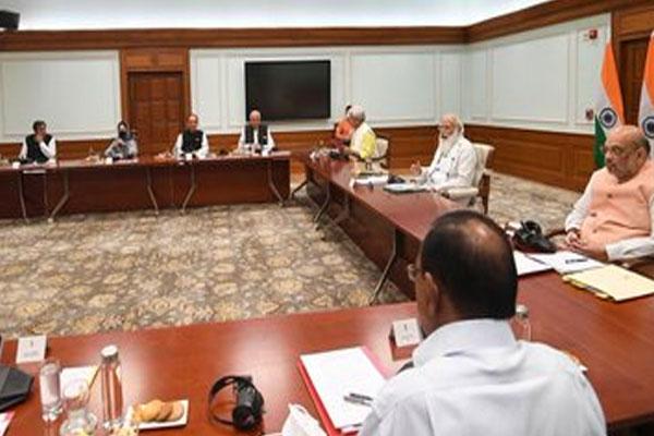 PM Modi meeting on J&K, Farooq-Mehbooba, Ghulam Nabi, Lt Governor reached PM residence, see photos - Jammu News in Hindi