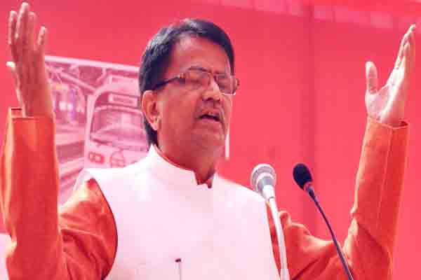 Haryanas Agriculture Minister OP Dhankar Speak on SYL all parties quit politics and work together for their rights - Jhajjar News in Hindi