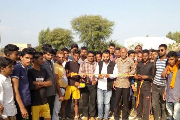 Open kabaddi competition wrestlers showed - Bundi News in Hindi