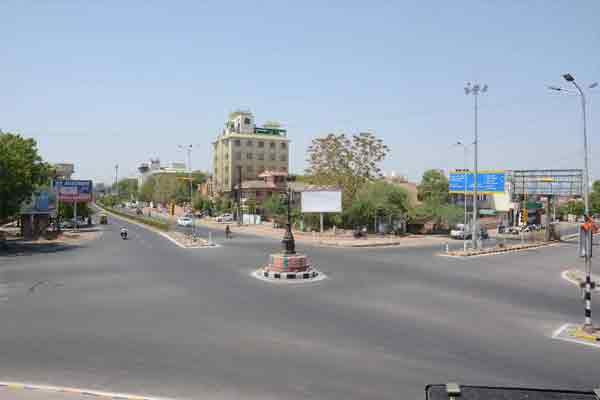 Heat increased difficult, roads were deserted - Jodhpur News in Hindi