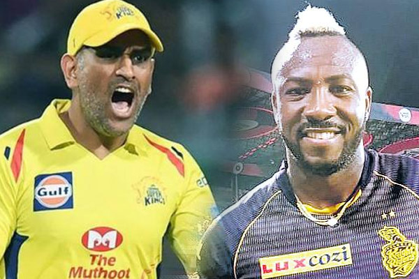 IPL-12 : MS Dhoni have challenge to stop Andre Russell  challenge-m.khaskhabar.com
