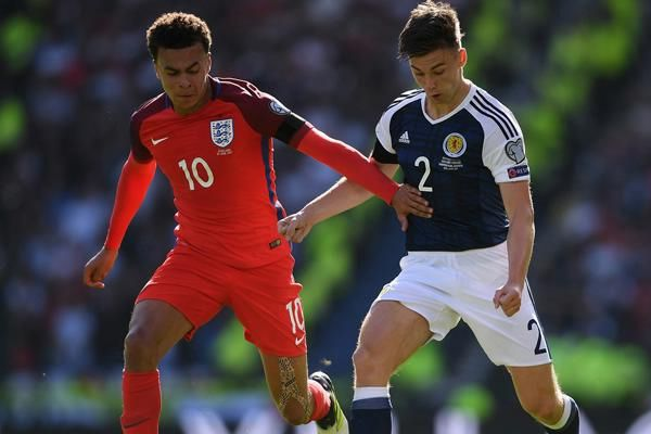World Cup Qualifier football tournament : England-Scotland play 2-2 draw - Football News in Hindi
