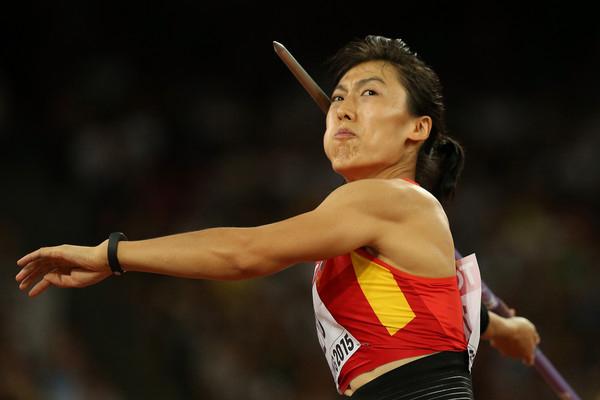 World champion Lu Huihui breaks asian record in javelin throw - Sports News in Hindi