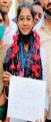 21-year-old Rajni Devi won the panchayat election - Jhansi News in Hindi
