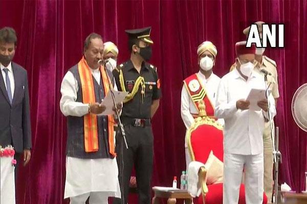 29 ministers took oath in Basavaraj Bommai cabinet - Bengaluru News in Hindi