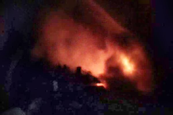 fire in Handicrafts factory, loss of lakhs of rupees - Churu News in Hindi