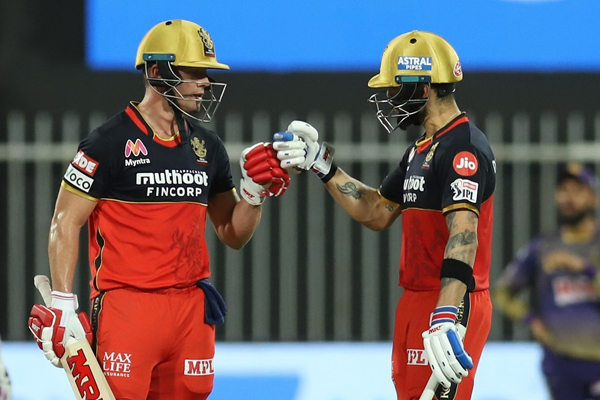 Kohli-de Villiers first pair in IPL to share 10 100-run stands - Cricket News in Hindi