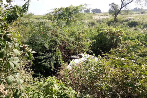 नाले में गिर गई स्कार्पियो, बेटी की विदाई से लौट रहे 10 लोग घायल