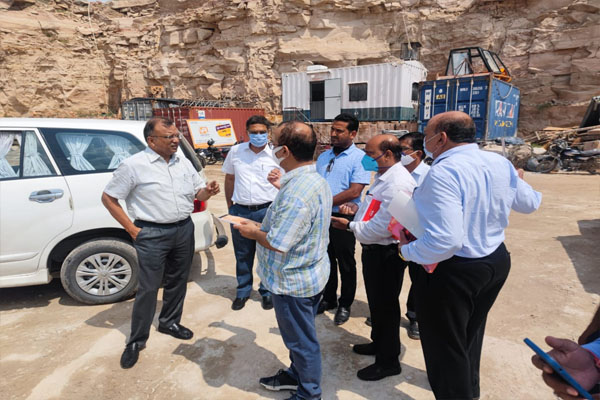 ACS Mines visited the mining area, gave instructions to the officers for field visit - Jaipur News in Hindi
