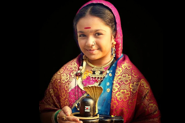 Child star Aditi Jaltare worked on diction, body language for Ahilyabai - Television News in Hindi