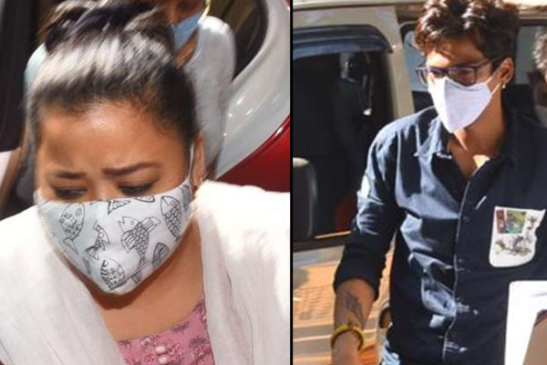 After Bharti Singh, NCB also nabs her husband Harsh in drugs case - Television News in Hindi