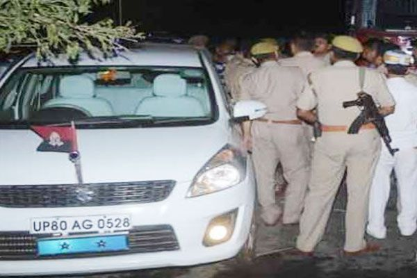 clash after murder of bjp leader in agra - Agra News in Hindi