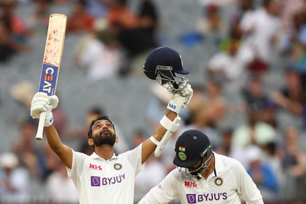Ajinkya Rahane scores a ton, helps India take control of 2nd Test - Cricket News in Hindi