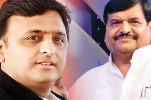 shivpal name and Akhilesh, Ramgopal Suspension letters removed from Samajwadi party website - Lucknow News in Hindi