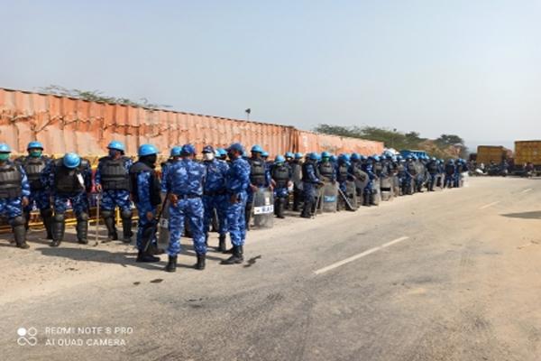 Gurugram police on alert after tractor rally violence in Delhi - Gurugram News in Hindi