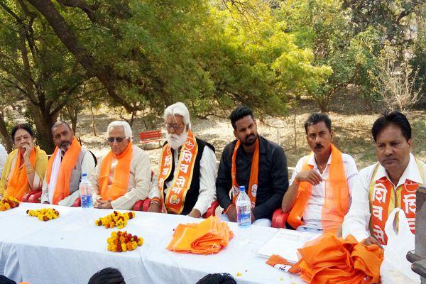 extracted rally under the Shivaji birth program - Alwar News in Hindi