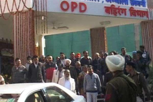 Inaugrate at sunday and sudden inspection at monday - Ambala News in Hindi