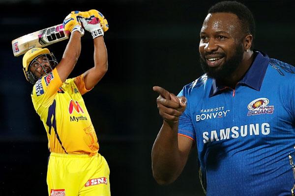 Pollard power-hitting upstages Rayudu as MI clinch thriller - Cricket News in Hindi