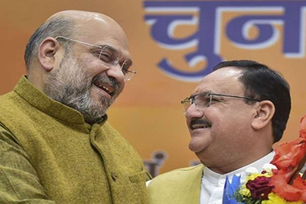 union minister amit shah and jp nadda formulate election strategy for   DELHI ASSEMBLY ELECTION - Delhi News in Hindi