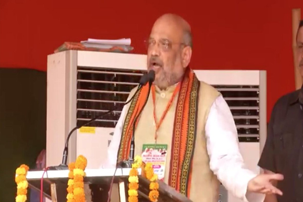 Amit Shah charges on Congress in Rewa of Madhya Pradesh - Rewa News in Hindi