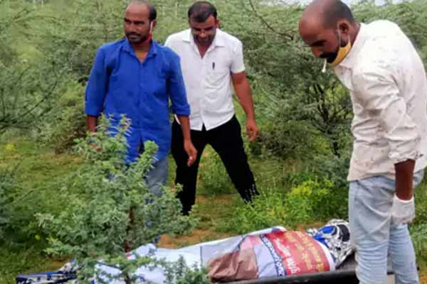 Andaman and Nicobar businessman murdered in Jaipur, dead body was found on the spot of killer nephew - Jaipur News in Hindi