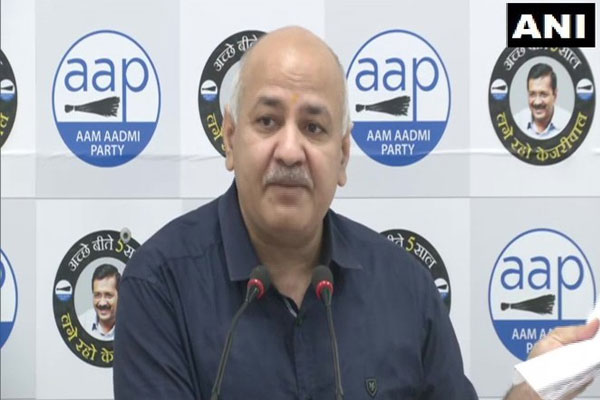 People who donated to Ram temple were betrayed, bought land worth 2 crores for 18.5 crores: Deputy Chief Minister Manish Sisodia - Delhi News in Hindi