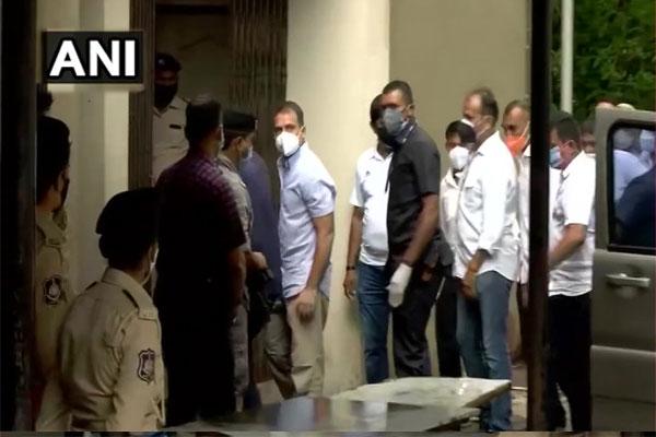 Rahul Gandhi statement recorded in Surat court in defamation case - Surat News in Hindi
