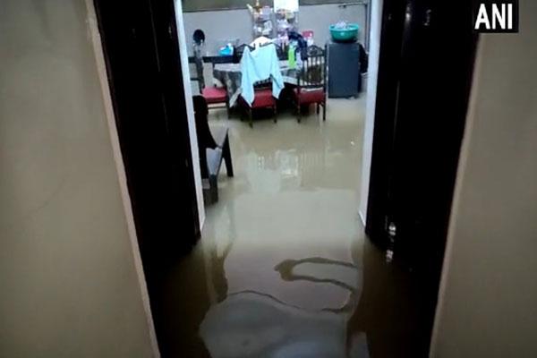After rain in Gurugram, water entered BJP MLA Sudhir Singla house, see photos - Gurugram News in Hindi