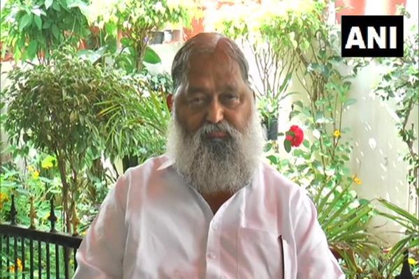 भारत एक धर्मशाला तो है नहीं कि जिसका दिल करे वे यहां आकर रुक जाएं- अनिल विज