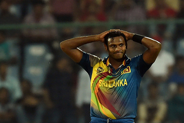 Angelo Mathews out of two matches after injury - Cricket News in Hindi