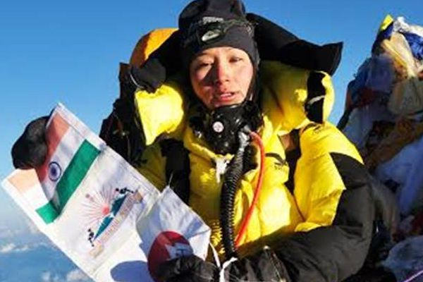 Fifth Everest will climb to anshu - Itanagar News in Hindi