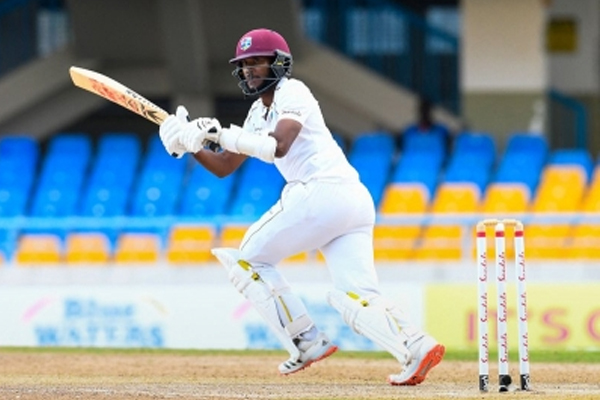 Antiga Test: Captain Brathwaite lifted the West Indies from crisis - Cricket News in Hindi