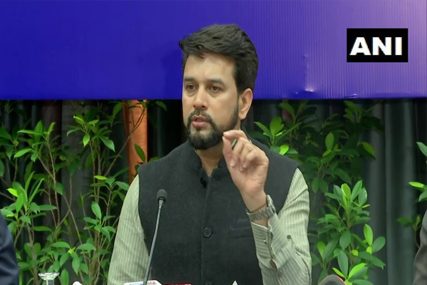 Anurag Thakur, furious over the question asked about the disputed statement, told journalists - incomplete knowledge is harmful - Chandigarh News in Hindi
