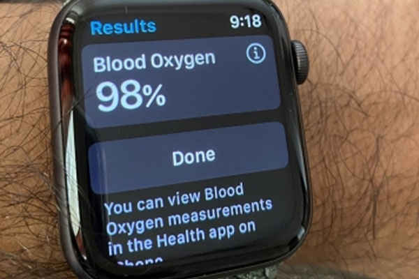 Apple Watch Series 6 oximeter reliable for lung disease patients: Study - Health Tips in Hindi