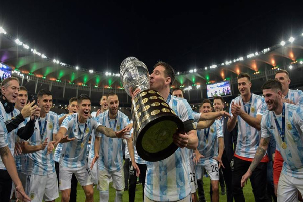 Argentina beat Brazil 1-0; Messi bags his first major title - Football News in Hindi