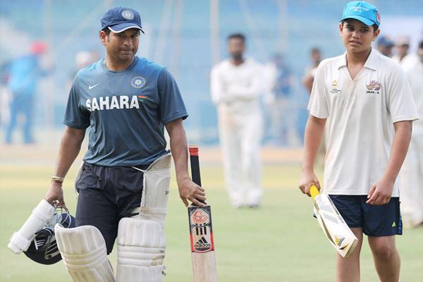 Mumbai T20 league: Arjun Tendulkar sold in five lakhs - Cricket News in Hindi