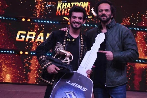 Arjun Bijlani wins Khatron Ke Khiladi 11 despite dislocated shoulder - Television News in Hindi