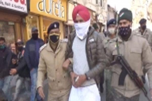 Three farmers of Punjab arrested in Shimla - Shimla News in Hindi