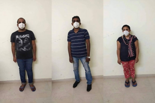 3 arrested for illegally selling Remediver injection - Gurugram News in Hindi