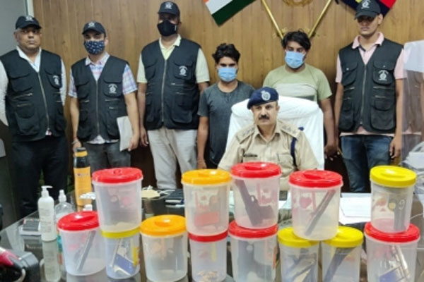 Two illegal arms suppliers arrested in Gurugram - Gurugram News in Hindi