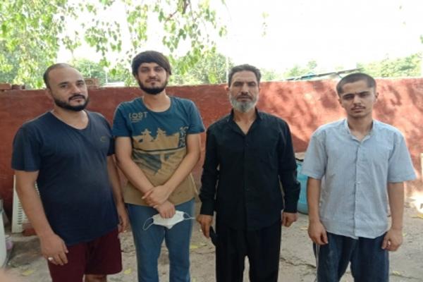 भारत में अधिक समय से रहने के आरोप में 4 अफगान नागरिक गिरफ्तार