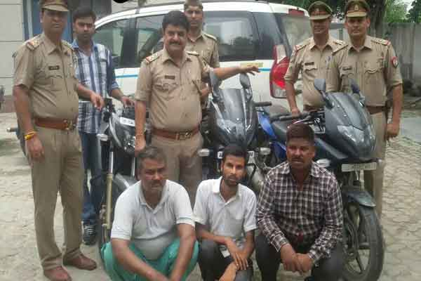 Three arrested for robbing ATM money launderers - Ghaziabad News in Hindi