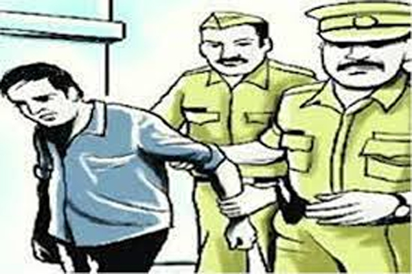 Accused arrested in case of embezzlement over Rs 96 lakh in Bharatpur - Bharatpur News in Hindi