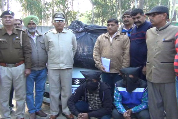 Dodapost recovered millions of rupees, two smugglers arrested - Kaithal News in Hindi