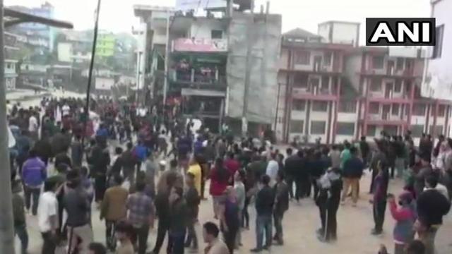 fire to house of Deputy Chief Minister in Arunachal Pradesh - Itanagar News in Hindi