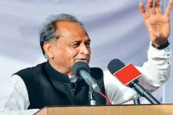 Chief Minister Ashok Gehlot attack on BJP in Dholpur - Dholpur News in Hindi