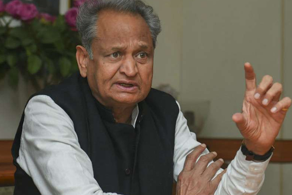 Chief Minister Ashok Gehlot said, democracy killed in Madhya Pradesh - Jaipur News in Hindi