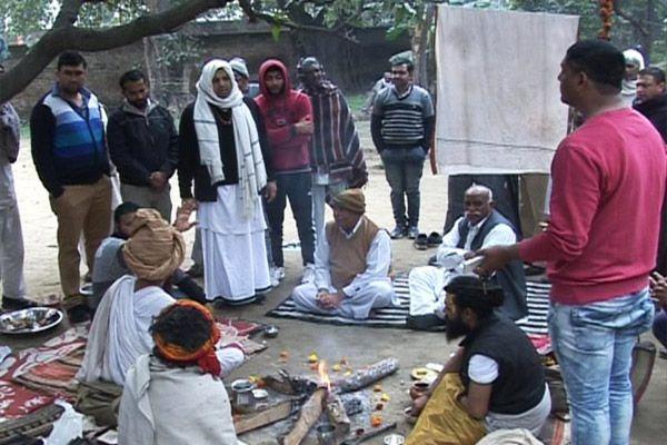 fight for ashram land in yamunanagar - Yamunanagar News in Hindi