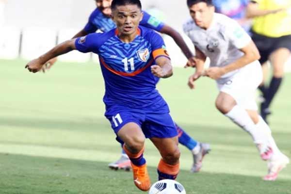 एशियन कप क्वालीफायर्स : आत्मघाती गोल ने भारत को हार से बचाया, अगले राउंड में पहुंचा